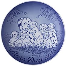 Bing & Grondahl 1902715 Mother's Day Plate 2015, Dalmatian with Puppies