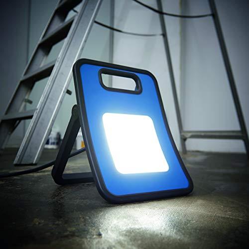 Northpoint Profi LED Arbeitsstrahler Baustrahler 30W 3000 Lumen rückseitige Steckdose 3m Netzkabel - 6
