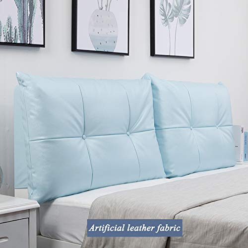 Save %41 Now! XUELIAIKE Large Bolster Bedside Cushion Bed Wedge Cushion Pillow,Lumbar Pad Backrest P...