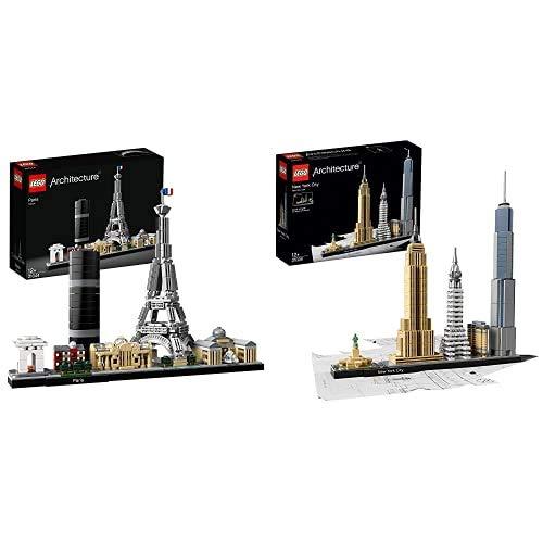 Lego Architecture, Parigi, 21044 & Architecture, New York City, 21028