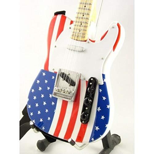 MUSIC LEGENDS COLLECTION Mini Chitarra da Collezione Replica in Legno -Bruce Springsteen