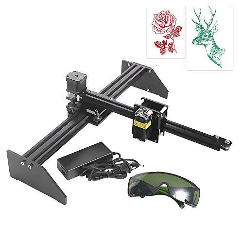 TOPQSC Metall Zeichnung Roboter Kit Schriftsteller XY Plotter Handschrift Roboter Kit Auto Zeichnung Schreiben Roboter Stift Plotter Humanoide Handschrift Kompatibel mit 2500mW Lasergravur