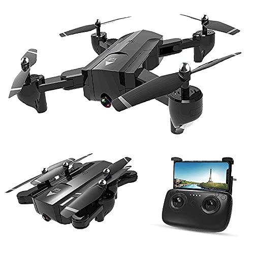 rzoizwko Drone, SG900-S GPS RC Drone con videocamera HD 1080P WiFi FPV Drone Follow Me Surround Mode Multi-Point Fly Altitude Hold Quadricottero RC Pieghevole