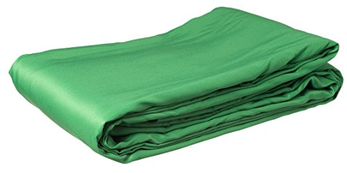 Bresser BR-8P - Telón de Fondo (poliéster, 3 x 6 m), Color Verde