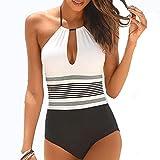 Set de bikini Traje de baño afrodisíaco de una sola pieza en la playa de bañador sin abrir la playa Push Up Swimwear for la piscina Traje de baño de cuerpo de la piscina Trajes de baño de deportes dep