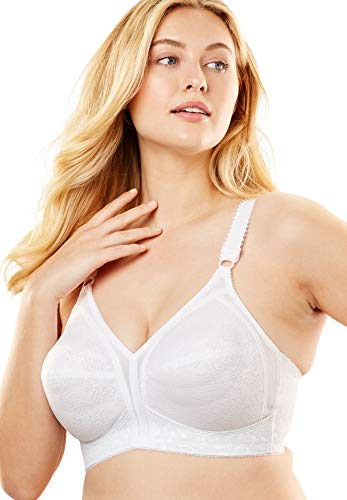 Playtex Women's 18 Hour Original Soft Cup Bra, White, 50C