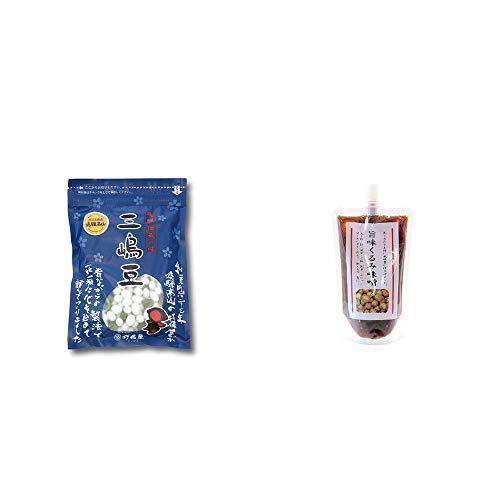 [2点セット] 飛騨 打保屋 駄菓子 三嶋豆(150g)・旨味くるみ味噌(260g)