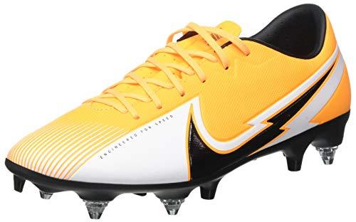 Nike Vapor 13 Academy SG-PRO AC, Football Shoe Unisex-Adulto, Laser Orange/Black-White-Laser Orange, 42 EU