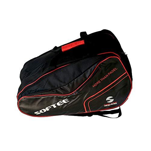 PALETERO Softee Padel Premium Negro Rojo