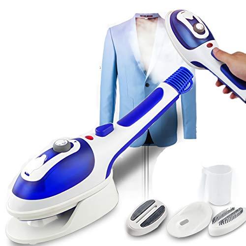 GHKLGTY Thermostat Thermostat à Trois Vitesses Portables à Vapeur de Poche pour des vêtements de Repassage pour Les Voyages à la Maison Vertical Steamer 110-220V,Bleu
