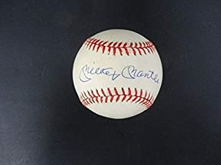 1de07324fb8 Mickey Mantle Signed Baseball Autograph Auto AF04546 - PSA DNA Certified -  Autographed Baseballs