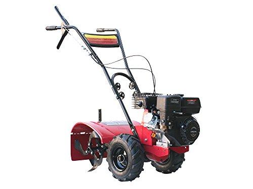 Varan Motors 93020 Gartenfräse mit Motor 6.5CV Arbeitsbreite 50cm mit Rädern für jedes Gelände