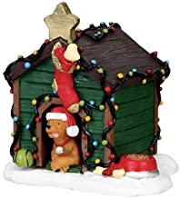 Lemax Village Collection Decorated Light Doghouse #02808