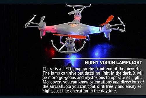 XuBa M62 M62R 2,4 G 4 CH RC Helikopter UFO mit blinkendem LED-Licht AR.Drone M62R Drohne RC kann Kamera Fliegen Indoor Spielzeug hinzufügen braun