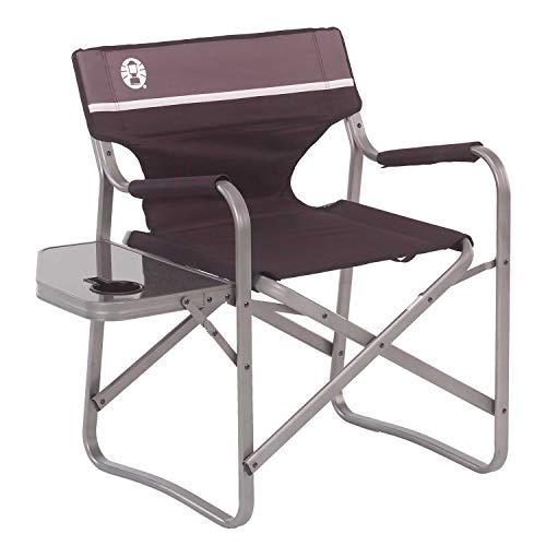 كرسي Coleman Portable Deck مع طاولة جانبية