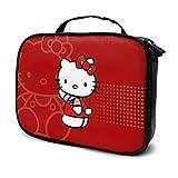 Hello Kitty Cosmetic Bag Cartoon Travle Makeup Bag Adorable funda para mujeres Girls Bla Makeup Handbag
