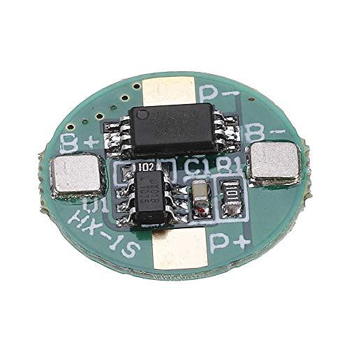 Relais 1S 3.7V 18650 Panneau de Protection de la Batterie au Lithium 2.5a Li-ION BMS avec Surcharge et sur la Protection de la décharge 5pcs commutateur de Relais WiFi