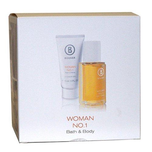 Bogner Woman No.1 femme/woman, Geschenkset (Eau de Toilette, 30 ml und Duschgel, 75 ml), 1er Pack(1 x 1 Set)