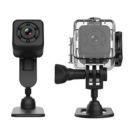 Irjdksd SQ29 Mini WiFi Sicherheitskamera mit wasserdichter Außenhülle, Mikro-Sportkamera, Nachtsicht, Bewegungs-Camcorder