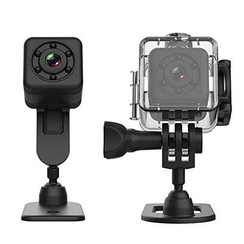 Irjdksd SQ29 Mini cámara de seguridad WiFi con carcasa impermeable Micro cámara deportiva de...