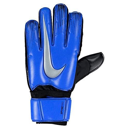 Nike Erwachsene GK Spyne Pro Torwarthandschuhe, Racer Blue/Black/Metallic Silver, 8