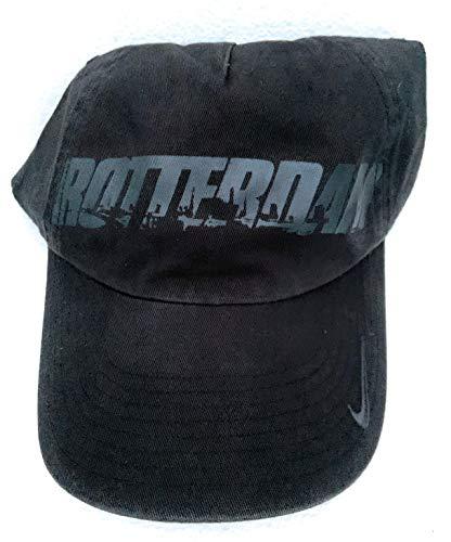 NIKE Gorra de béisbol unisex Rotterdam de edición limitada para adultos 572725 023, color negro