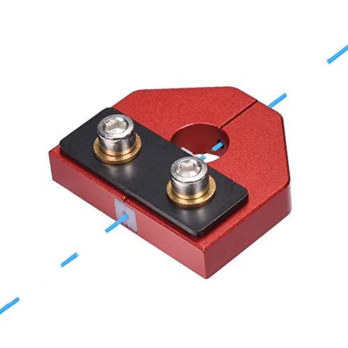 3Dman Filament Welder Connector, Broken 3D Printer Filament Connector Filament Sensor for All Kinds 1.75 mm Filament (Red)