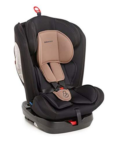 Cadeira Para Auto Lina Preto Cappuccino 9 A 36 Kilos, Galzerano, Preto Cappuccino