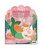 Coloring Book with Stickers Mermaids