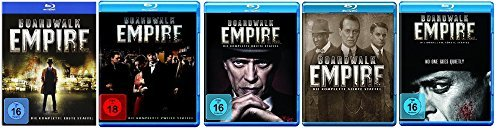 Blu-ray Set * Boardwalk Empire - Staffel/Season 1+2+3+4+5