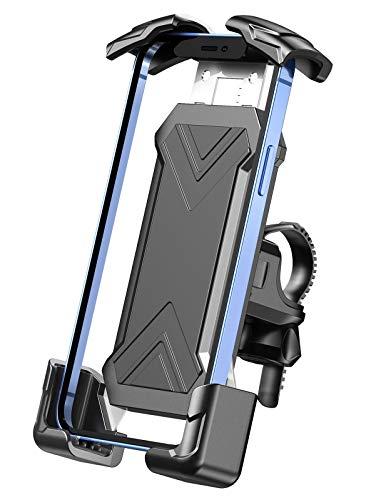 Cocoda Soporte Movil Moto Bici con Abrazadera de Acero Inoxidable Compatible con 4.7-7.0' Movil