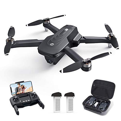Holy Stone GPS Drone with 4K Camera for Adults - HS175D RC Quadcopter with Auto Return, Follow Me, Brushless Motor, Circle Fly, Waypoint Fly, Altitude Hold, Headless Mode, 46 Mins Long Flight