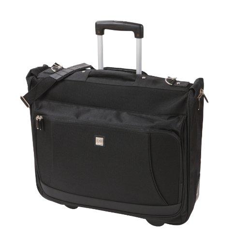 Skyflite Satellite 9020 Trolley Wardrobe Garment/Suit Bag Black