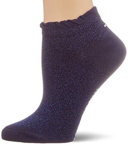 Tommy Hilfiger Damen TH Women Sneaker 2P Lurex Füßlinge, Blau (Midnight Blue 014), 39/42...