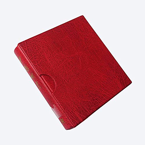 Guoc - Briefmarkenalben in Red, Größe 30*27*6cm