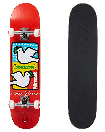 Almost Skateboard Komplett Set Double Doves 7.5