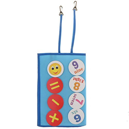 HYY-YY Stof Leuke Alfabet Nummer Sticker Board Early Educational Kids Baby speelgoed