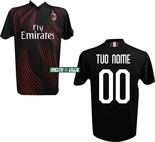 DND di DAndolfo Ciro Maglia Calcio bianconera Numero 7 Replica autorizzata 2019-2020 Taglie da Bambino e Adulto Personalizza con Il Tuo Nome