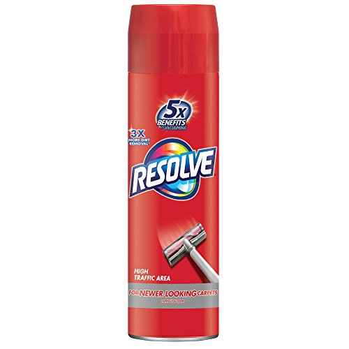 Resolve High Traffic Carpet Foam, 22 oz Can, Cleans Freshens Softens & Removes Stains