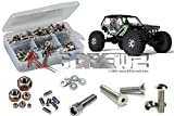 RCScrewZ Axial Wraith RTR/PRO Stainless Steel Screw Kit, Complete Replacement Set for RC Car Rusted and Stripped Screws, Race Quality Upgrade, Assembled in USA. axi004 for Axial kit (AX90018)