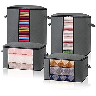 Lesteco Foldable Storage Bags Organizer Contain...