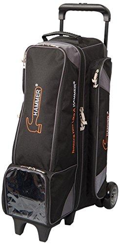 Hammer 4X4 Diesel Inline Roller Bowling Bag, Black/Carbon