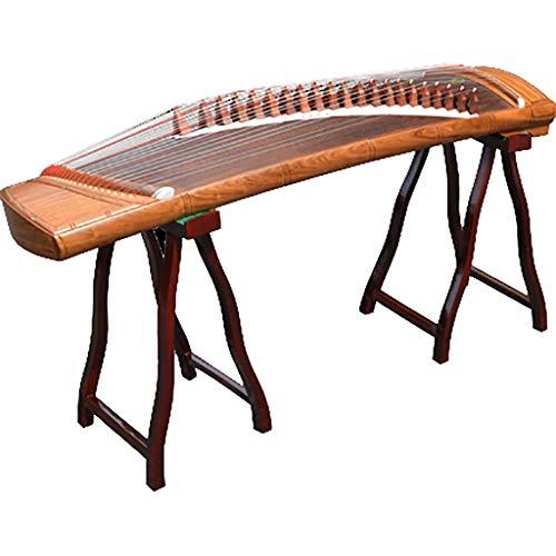 N /A Guzheng, Chinesisch Musikinstrument, 128cm, mit dem gleichen Ton als Professional Guzheng, 21 Streicher, Geeignet for professionelle Leistung, Anfänger, mit einem kompletten Satz von Zubehör