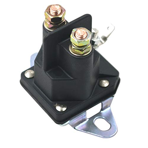 QIUXIANG Solenoide Starter Relay Fit para cortacéspedes para cortacésped para Tractor Ariens Bolens Dynamark MTD Murray Snapper Rueda Horse 3057700 1751569