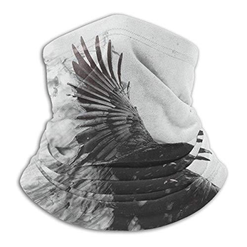 Condor Heroes Polaina para el cuello Bufanda para la cara Bandana Diadema sin costuras Protección solar contra el viento y el viento Esquí Equitación Correr