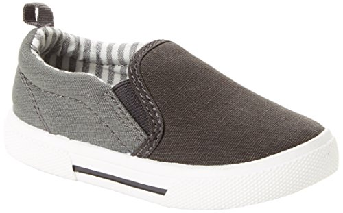 Simple Joys by Carter's Baby Boys' Phil Casual Slip-on Shoe Sneaker, Grey, 11 M US Little Kid