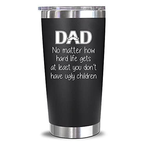 Gifts For Dad From Daughter, Son, Kids - Dad Gifts - Birthday Gifts For Dad - Christmas Gifts For Dad, Husband, Men - Best Dad Bday Present Idea For a Father, Men, Him - Dad Mug, 20 Oz Tumbler