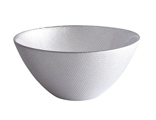 Excelsa Diamond-schaal, zilver, 15 x 15 x 7 cm