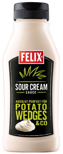 Felix Sour Cream Sauce - 250ml - 2x