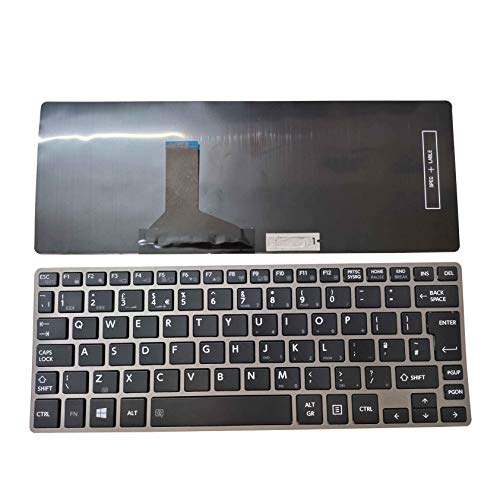 WJY Nuevo Teclado portátil para Toshiba Portege Z30-A Z30-B Z30-C Z30T-B Z30T-A Satellite Z30-A Z30t-A QWERTY UK Keyboard